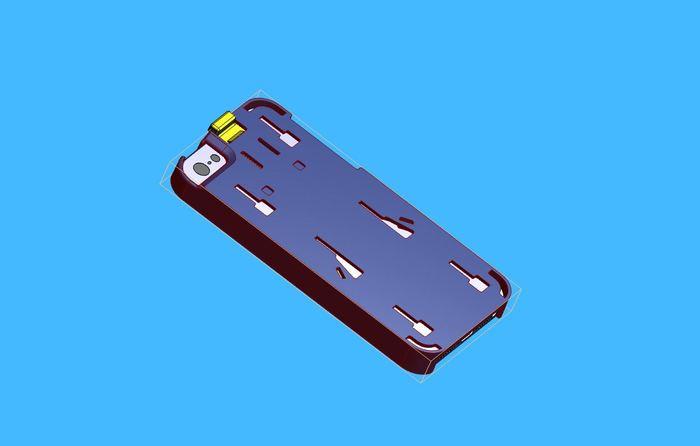 CAD design of the Convert Case