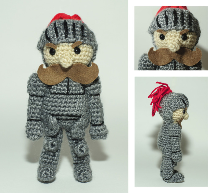 Plushie by Weaving Spider Crochet - 15 cm tall