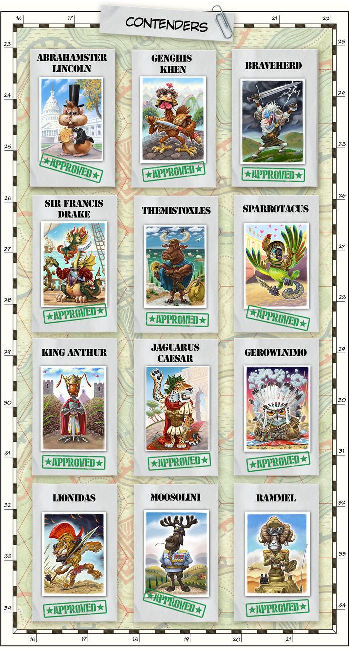attack on titan board game rules pdf