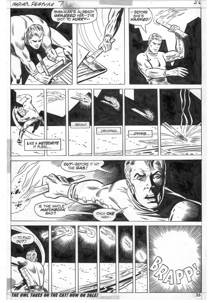 "Tier #7 includes an original ""Ant-Man"" page by P. Craig Russell!"