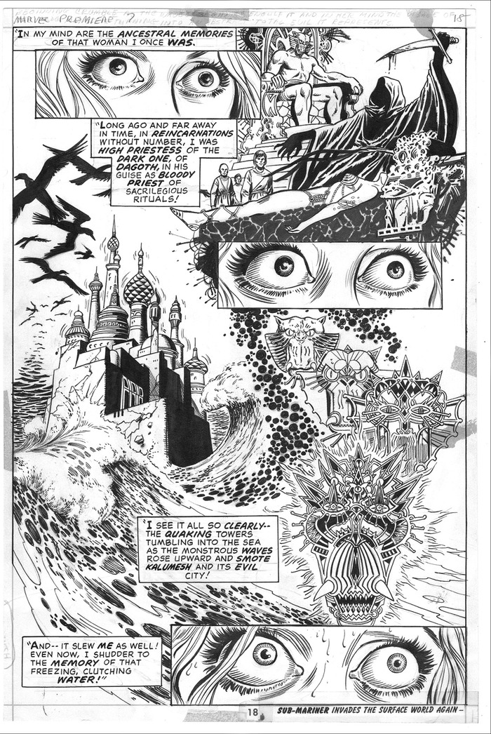 "Tier #9 includes an original ""Doctor Strange"" page by P. Craig Russell!"