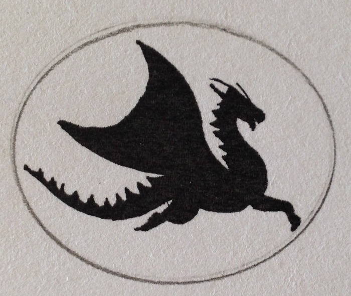 Original Concept Drawing of Phoenix Dragon of Fire