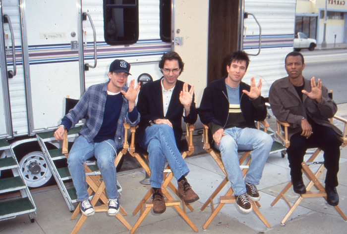 LOVE LONG & PARTY: The cast of FREE ENTERPRISE - THE MOVIE wishes you to Live Long & Propser… and party like it's 1999.