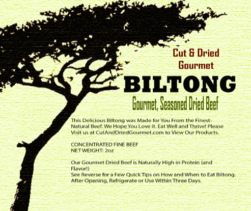 Biltong is naturally air-dried meat from premium American beef