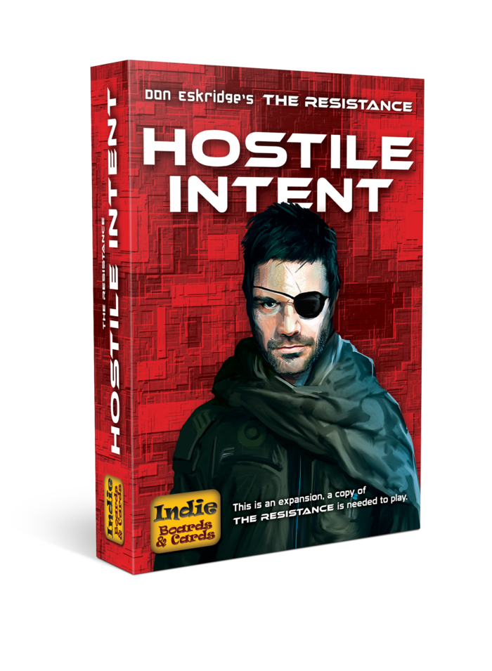 Hostile Intent: The Resistance Expansion -  Indie Boards and Cards