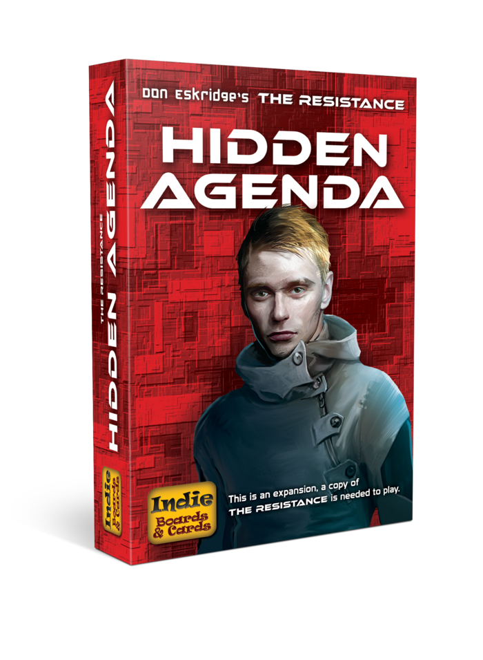 Hidden Agenda: The Resistance Expansionp -  Indie Boards and Cards