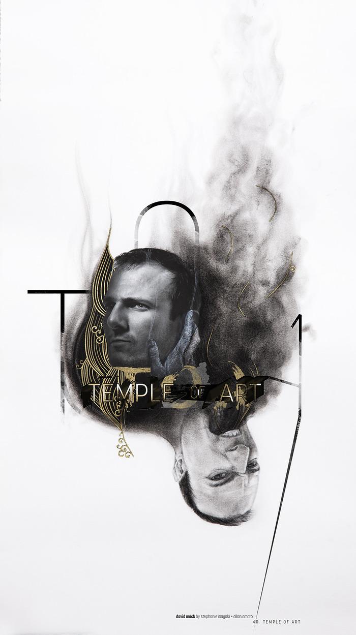 TOA poster of David Mack by Stephanie Inagaki