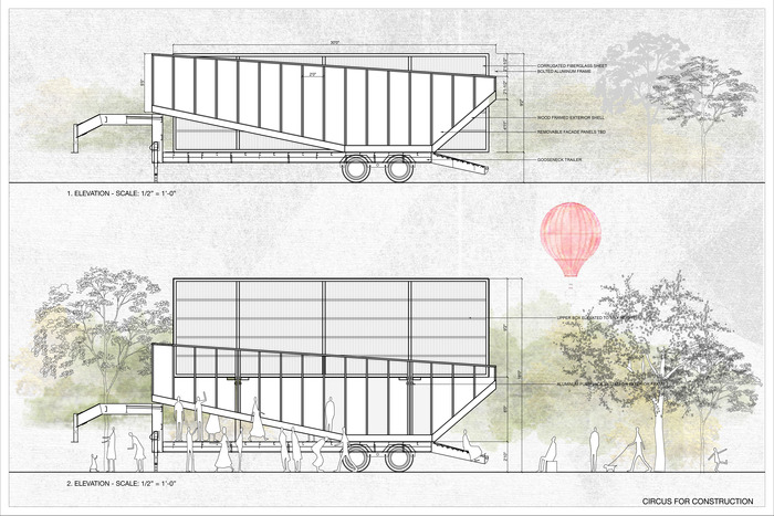 Open and Closed: A drawing of how we're going to build the truck!