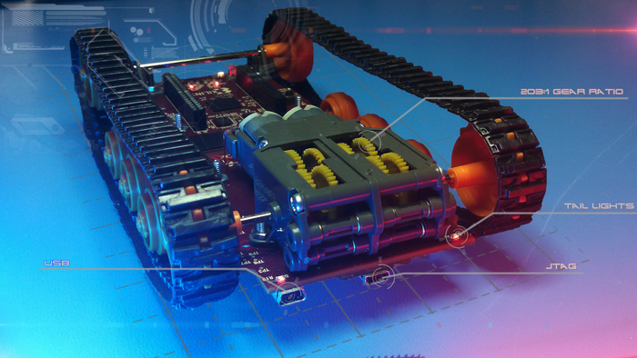 Logitraxx employs high efficiency switching regulators from Linear Technology. Operating up to 96% efficiency in key areas of the design, they extend battery life far beyond low cost linear regulators