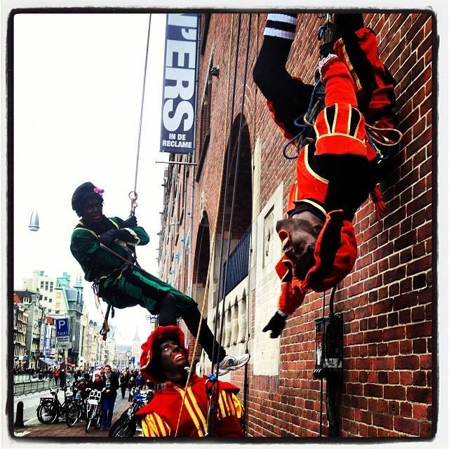 Piets at the Intocht (Arrival of Sinterklaas) in Amsterdam | Photo Credit: Shantrelle P. Lewis