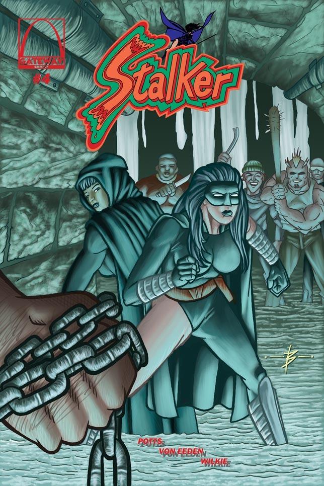 Stalker #4 - Blake Wilkie Cover