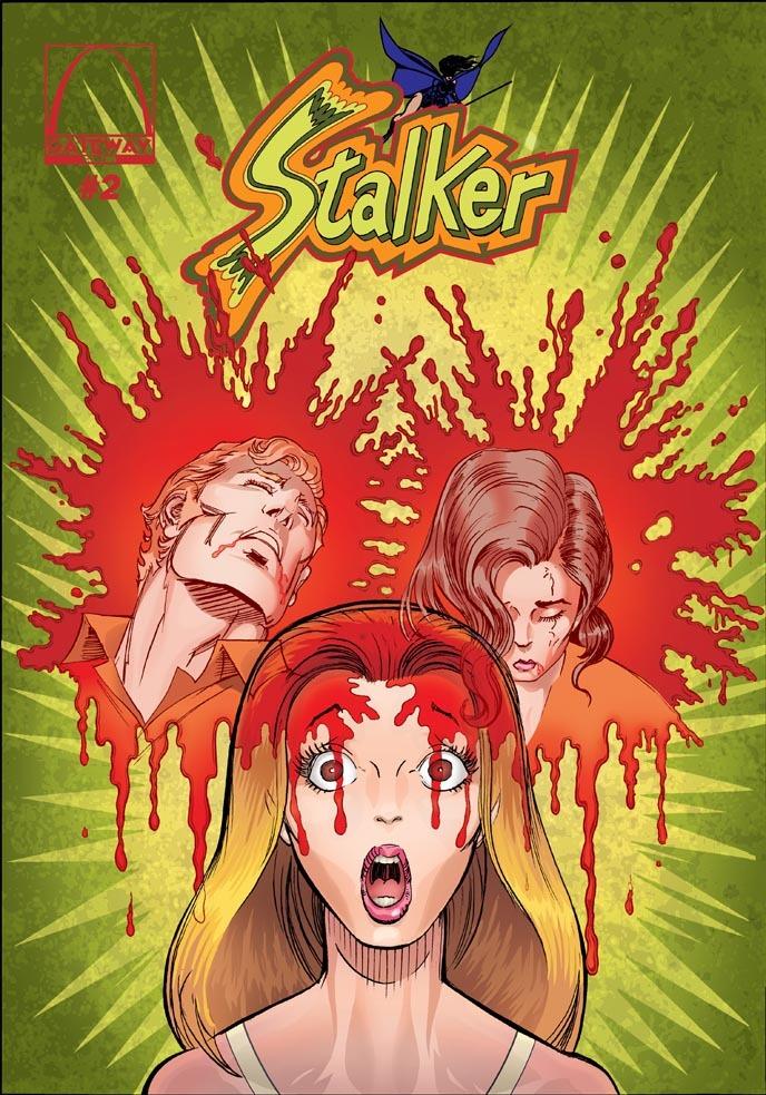 Stalker #2 - Trevor Von Eeden Cover