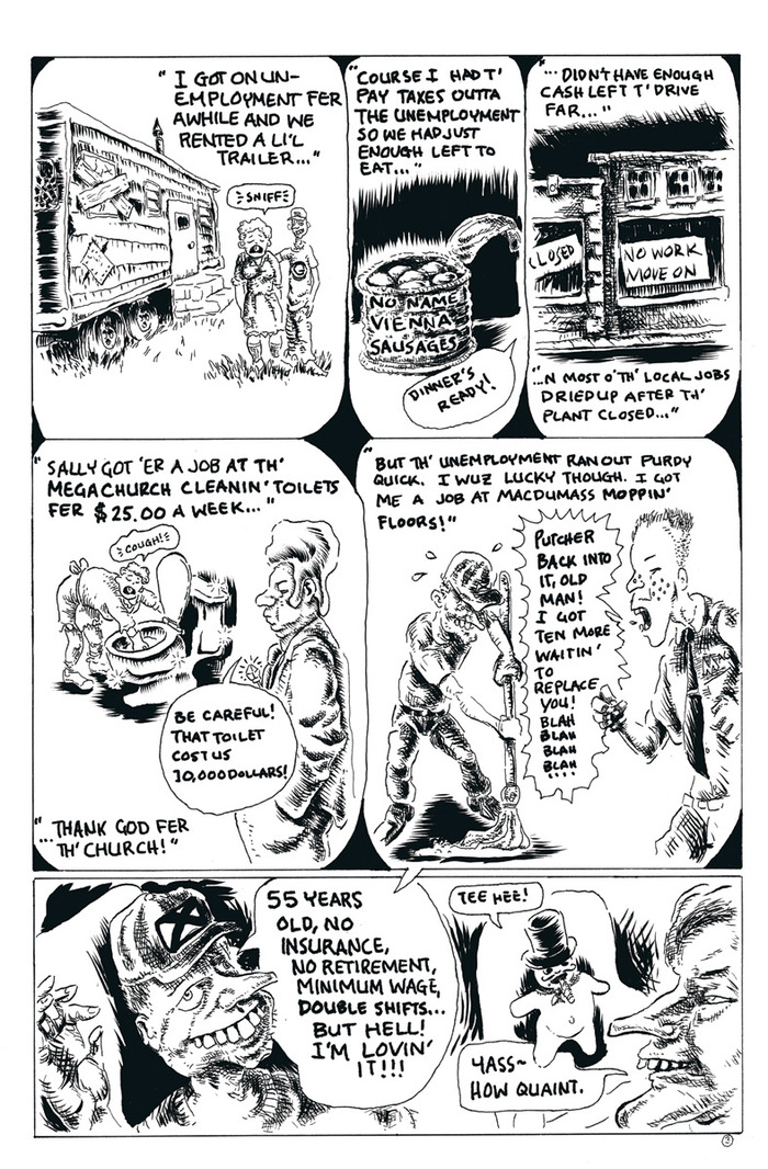 """from ""Firing Squad with Willyum F. Bucksley, Jr."" for Loser Comix #2"