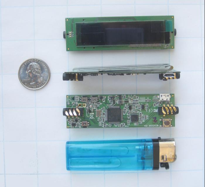 JackPair PCB top/side/bottom views