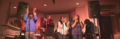 The Urban Doxology Band performing on their tour earlier in 2014!