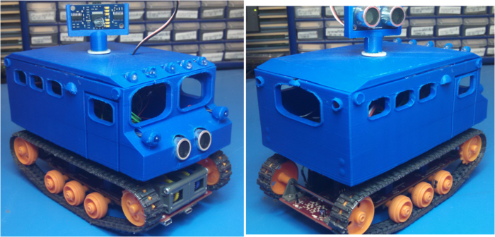 3D Printed SnowCat Cab comes assembled and ready to use (Indoor use only).