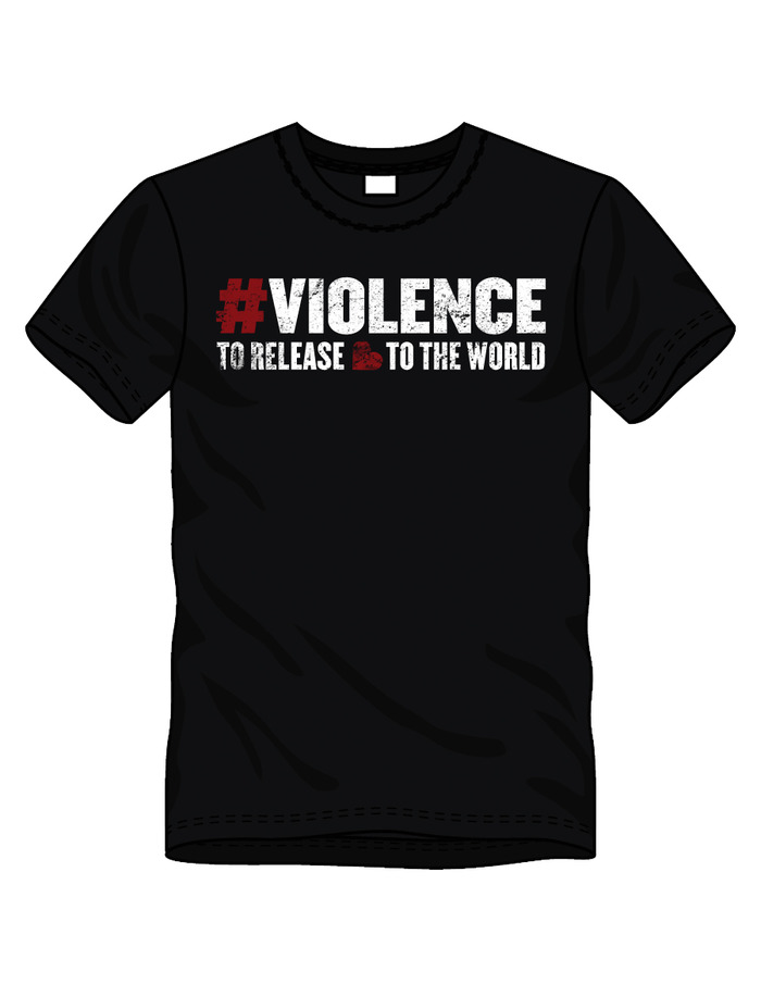 LIMITED-EDITION #VIOLENCE T-SHIRT