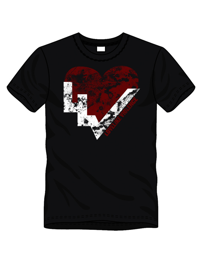 LIMITED-EDITION LLV HEART T-SHIRT
