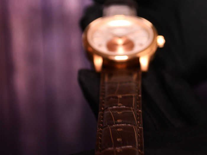 Genuine Crocodile Pattern Leather Strap of Gentry Collection