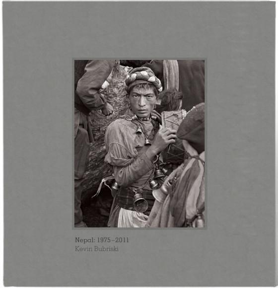 Signed Clothbound edition of NEPAL 1975-2011 by Kevin Bubriski
