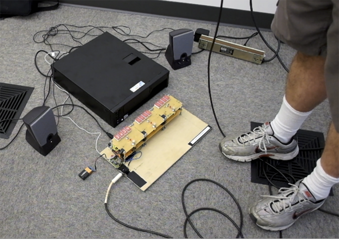 Our first physical prototype had a separate computer. We thought we might go in this direction initially.