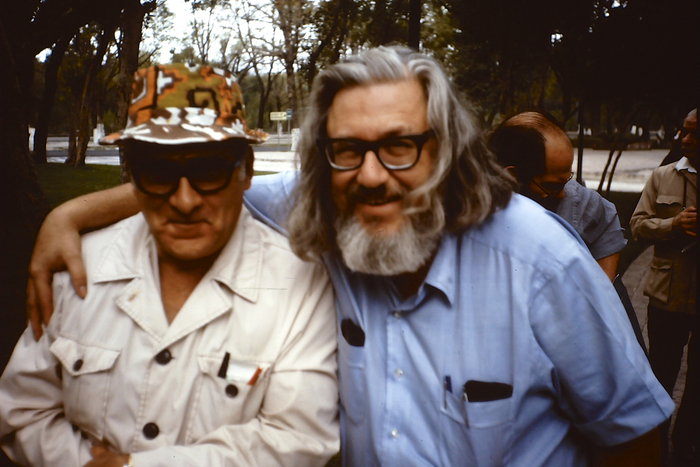 Dave Berg and Bill Gaines