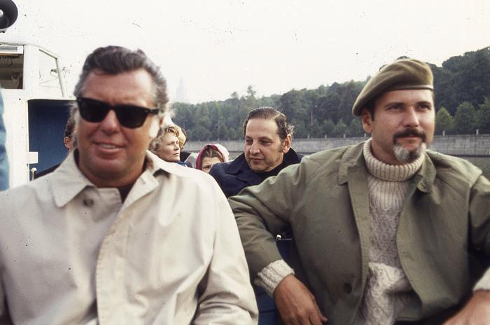 Don Martin and George Woodbridge