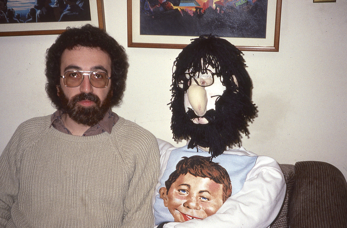 John Ficarra and his doppelgänger (not sure who's who)