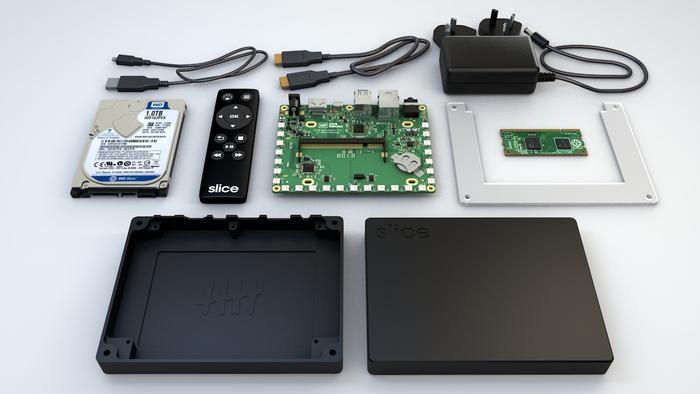 FiveNinjas Slice Media Player - Unit includes