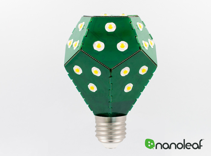 Green bulb, inside and out. ;)