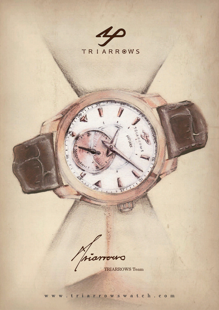 TRIARROWS Gentry Collection Poster