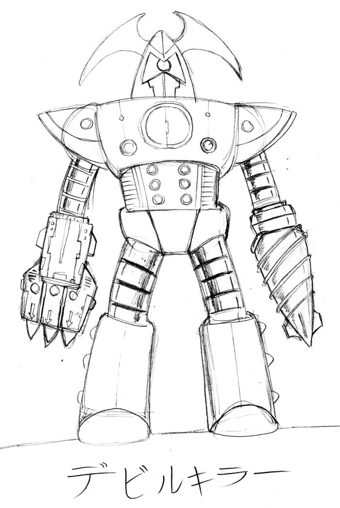 Original Vulkira concept sketch