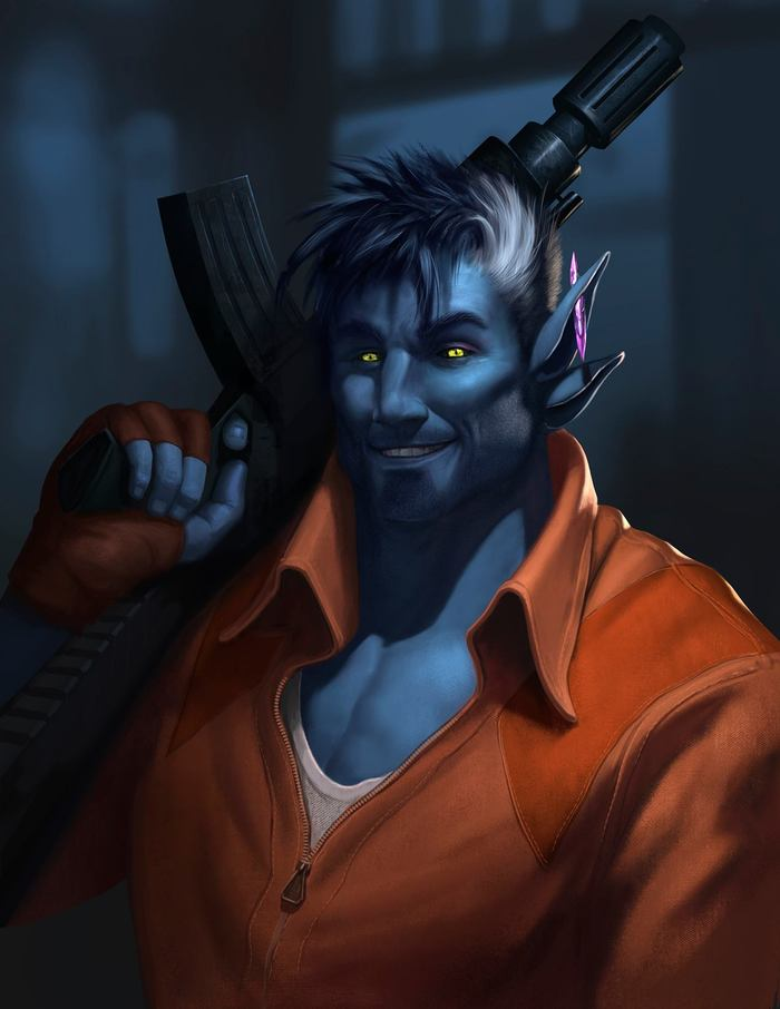 Ryan Wardlow character commission