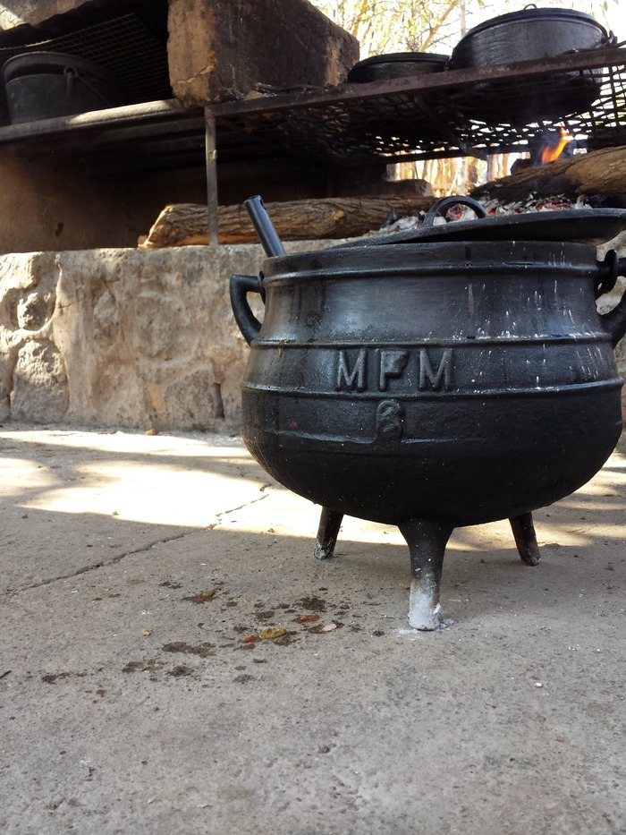 A potjie pot. Spencer wants one to add to his cast iron collection.