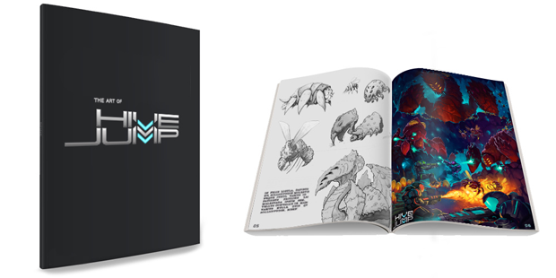 Physical Art Book from the $100 Tier
