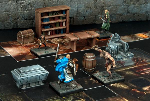 Painting Dungeon Saga Furniture