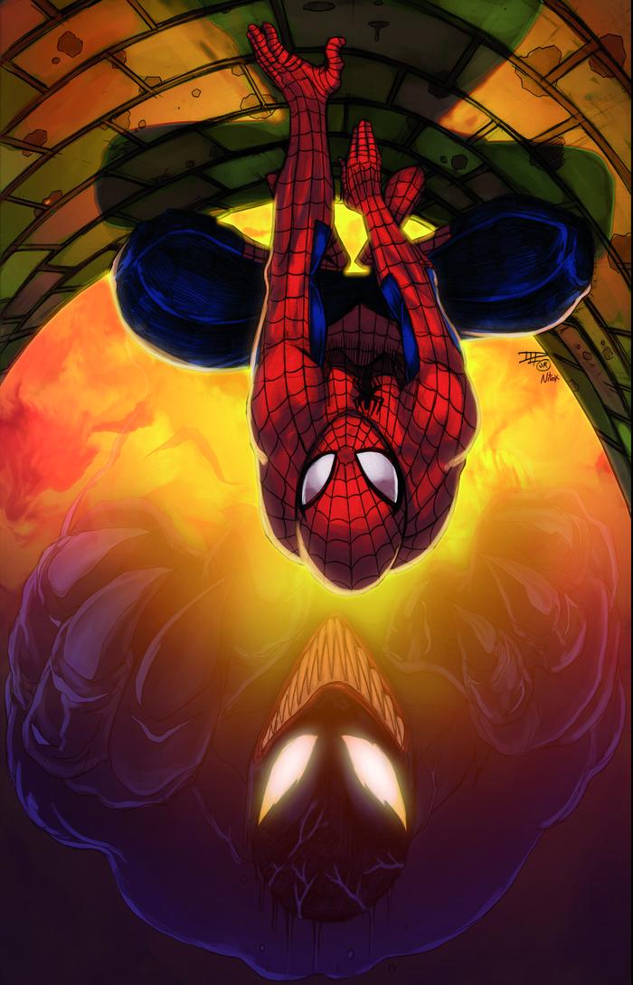 Spidey and Venom!