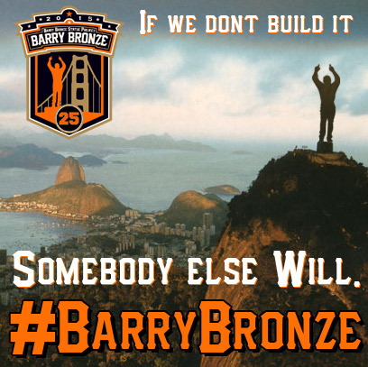 Let's do this! #barryBronze