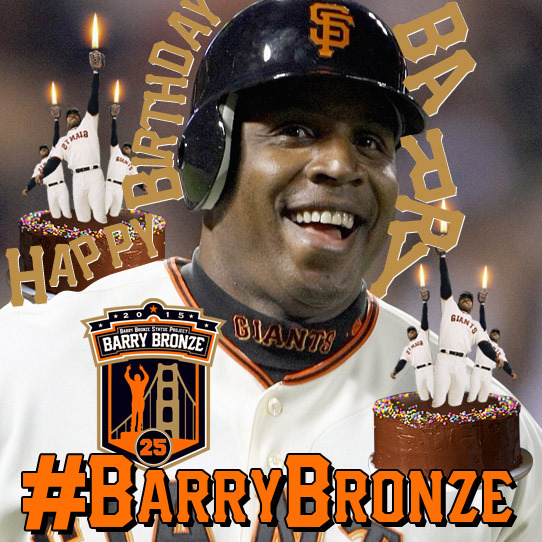 Happy 50th to Barry Bonds!