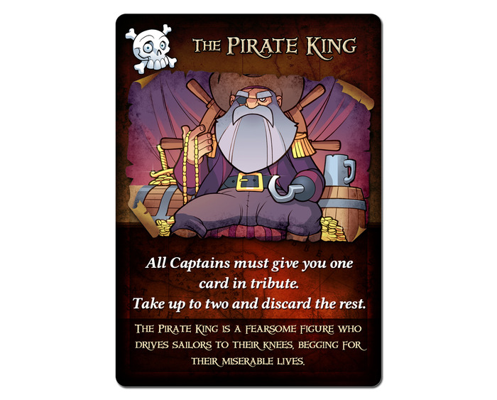 The 'Pirate King' Action Card