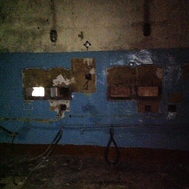 This was the projection room.