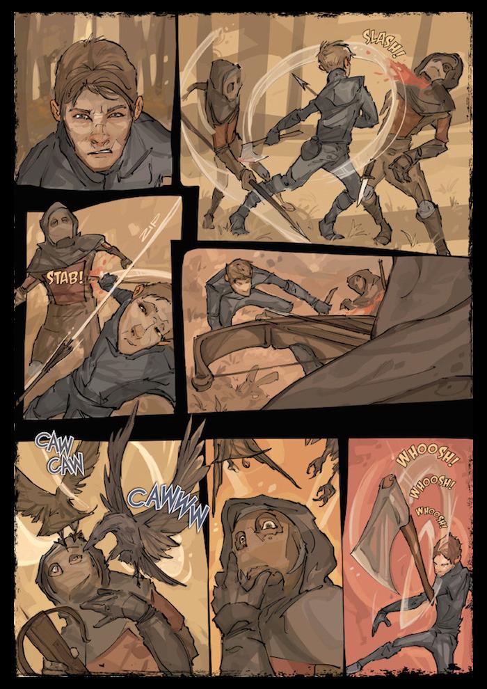 Murder & Midnight Graphic Novel