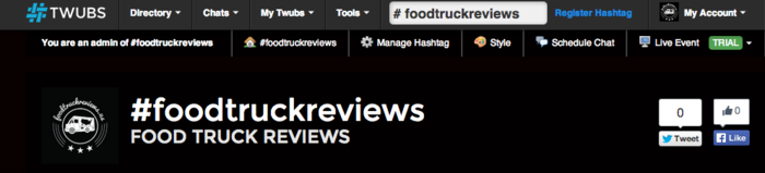 #foodtruckreviews on Twubs.com