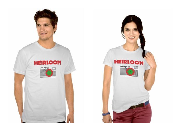 Get an Heirloom T-shirt for $15