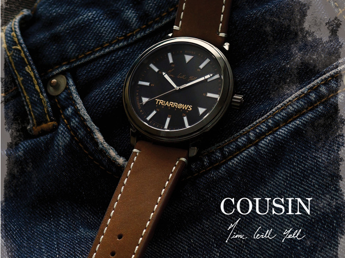 Kickstarter Limited Edition, Cousin Collection TCN01