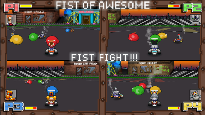 Serve up some Fist!