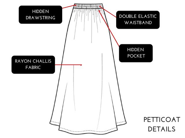 Which makes these skirts like superhero sidekicks!