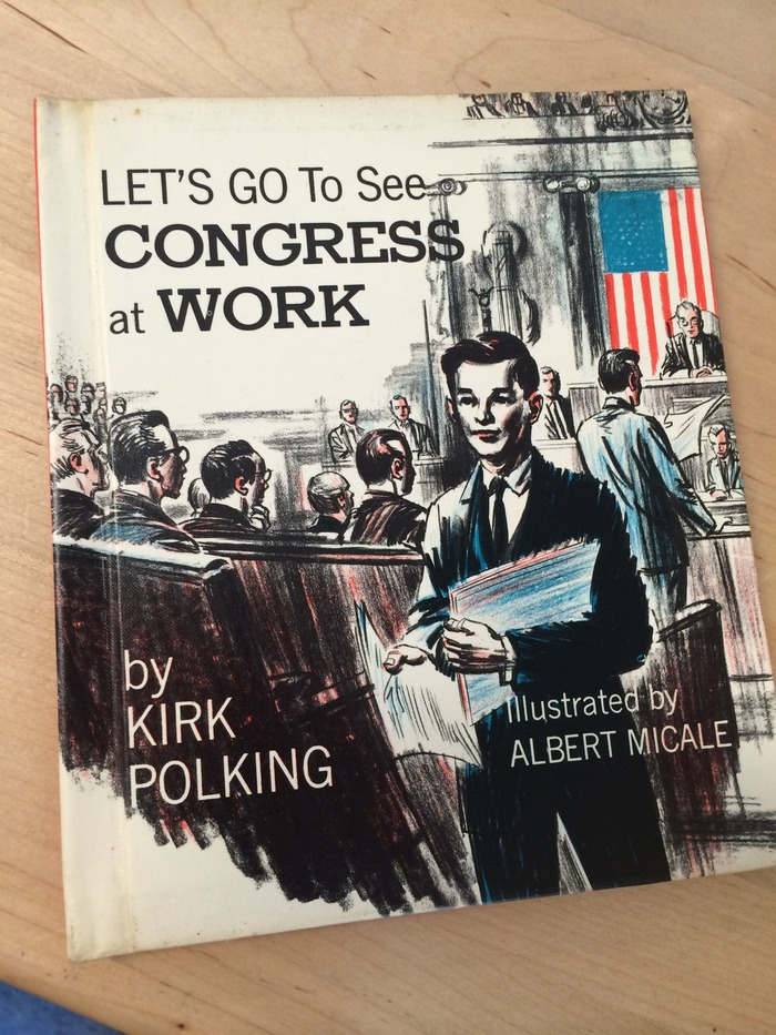 ironic title from 1966 we tossed during our major overhaul of Ms. Morrison's library in room 220.