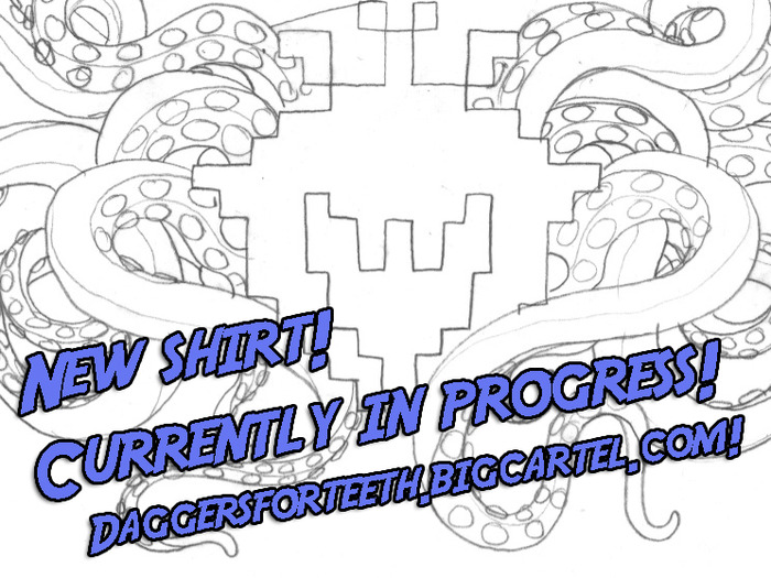 New shirt based on a design by Zoog von Rock of ANGELSPIT
