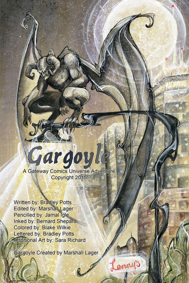 Gargyle by Sara Richard